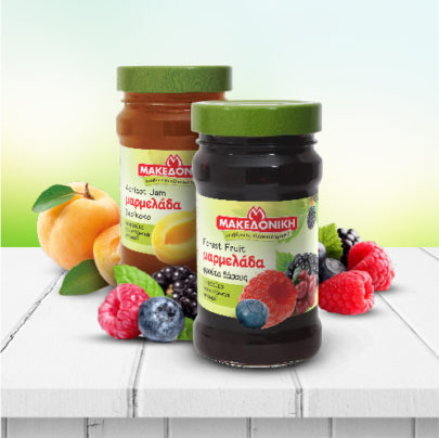 MAKEDONIKI Jams Extra fruit jam 55%