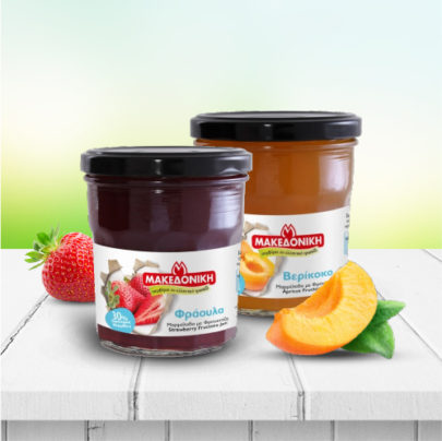 MAKEDONIKI Jams Fruit jelly